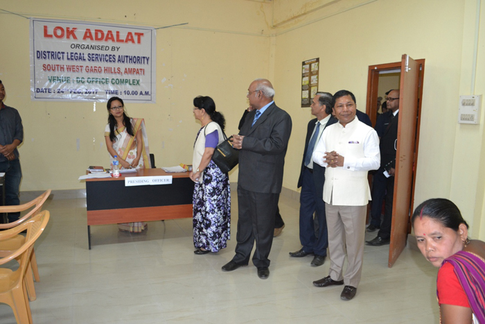 Lok Adalat organised by the District Legal Services Authority-2