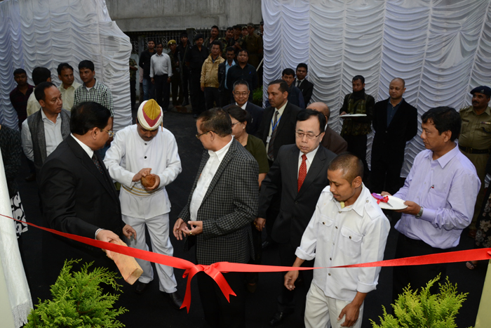 Ribbion cutting ceremony