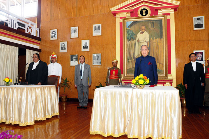 Swearing in Ceremony of Hon'ble Mr Justice Uma Nath Singh